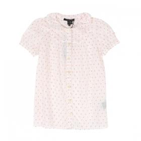 3e989a29fd8 LITTLE MARC JACOBS бяла риза на червени квадратчета ...