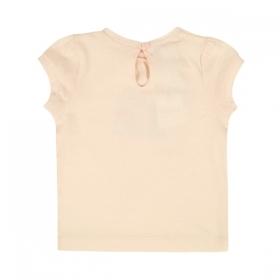 d52514cbe6c BONPOINT Светлорозова тениска с щампа куфар BONPOINT Светлорозова тениска с  щампа куфар
