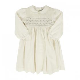 94dbcb1281d TARTINE ET CHOCOLAT бяла рокля с ръкави буфан ...