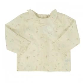 edac122e167 BONPOINT блуза екрю с десен на малки цветя ...